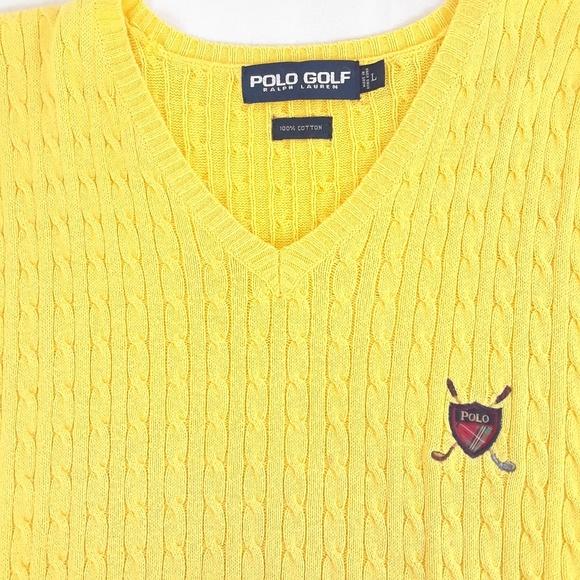 3d34965a055 Polo Golf Ralph Lauren Sweater Vest Mens Large L. M 5bd4b80b3e0caab6a8f7be84